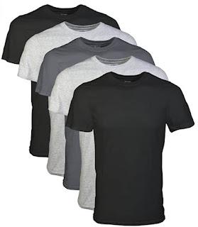 Amazon - Gildan Men's Crew T-Shirts, Multipack