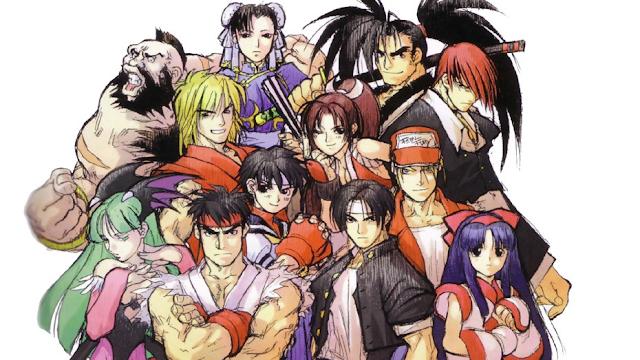 SNK vs Capcom está de volta no Switch!... em poucas cores