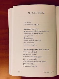 Poema de amor : Ella es feliz