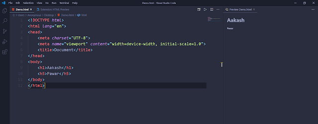 Using HTML Preview