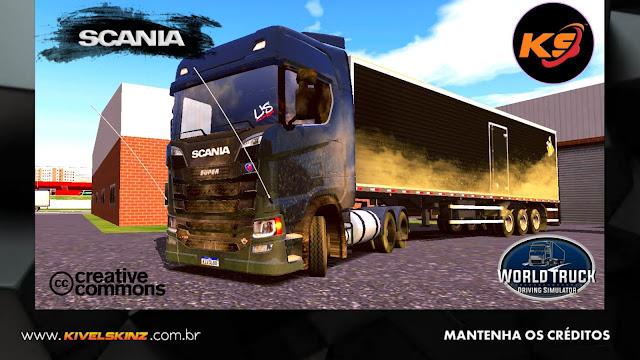 SCANIA S730 - ESCURA SUJA DE LAMA