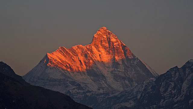 nanda Devi is the second highest peak in India