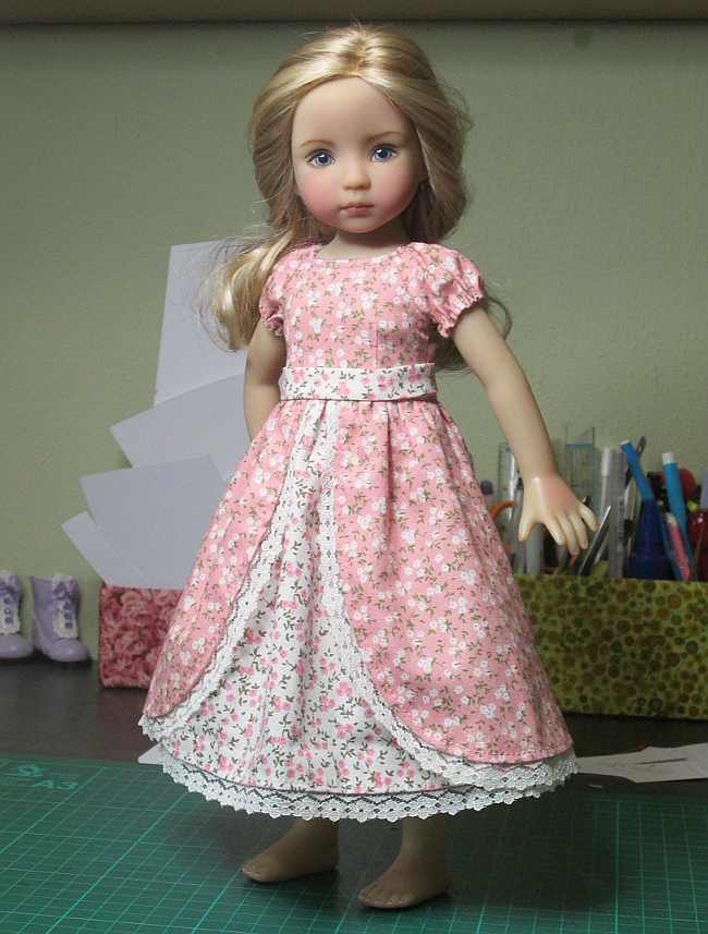 New dress for Little Darlings
