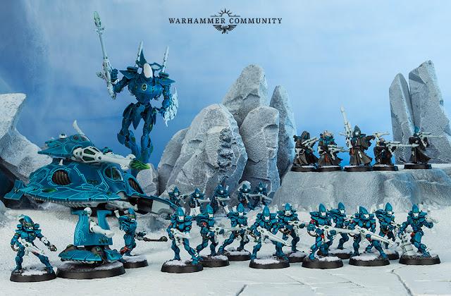 Ejército Aeldari temático