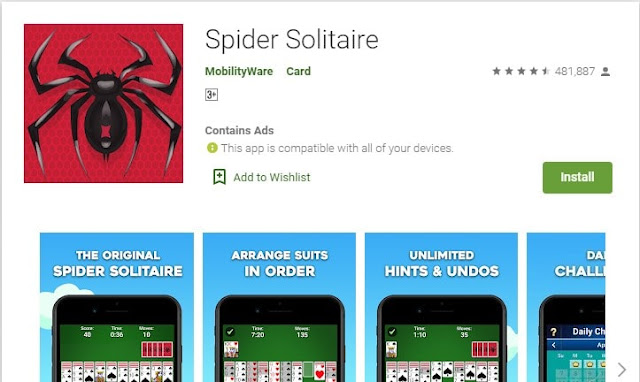 offline solitaire for android