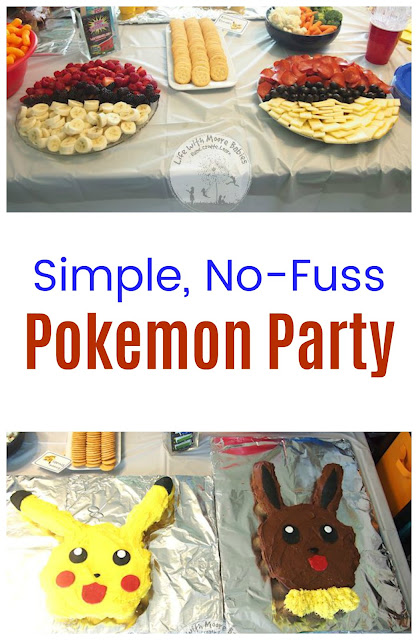 Simple, No-Fuss Pokemon Party for Kids