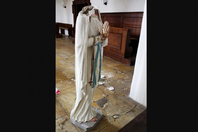 Patung Maria Hancur, Pemulih Seni Tawarkan Bantuan untuk Memperbaiki