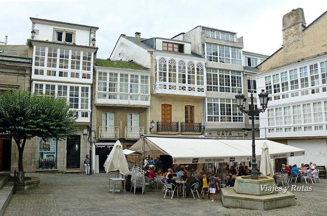 Plazas de Viveiro, Lugo