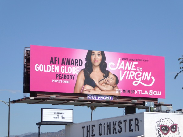 Jane The Virgin season 2 billboard
