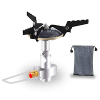 Aomago Ultralight Outdoor Camping Gas Stove with Carry Bag