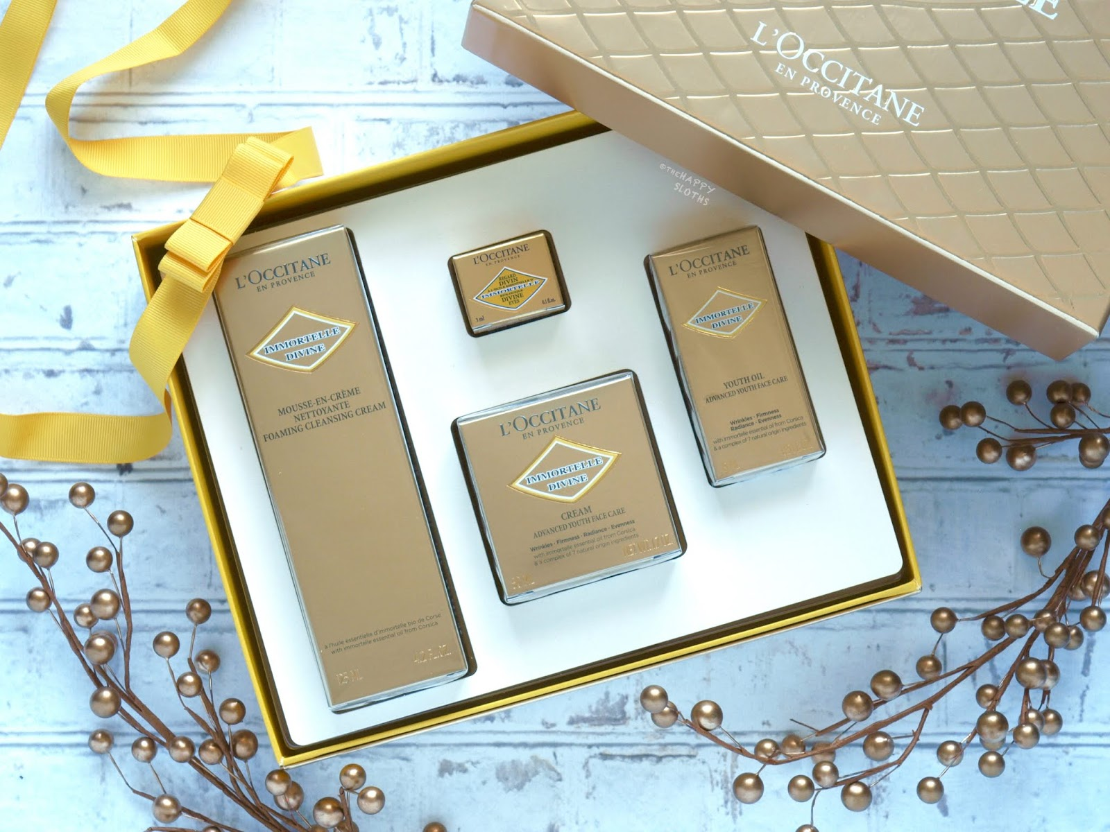 L'Occitane Holiday 2018 | Immortelle Divine Anti-Aging Collection