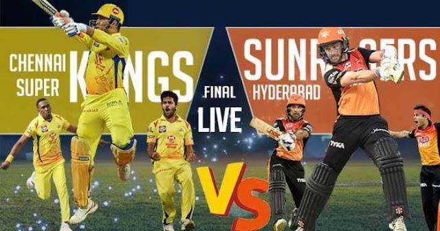 IPL 2018 Final CSK vs SRH Live Score and Full Scorecard