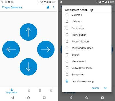 Cara Mengaktifkan Gestur Fingerprint pada Perangkat Android Oreo