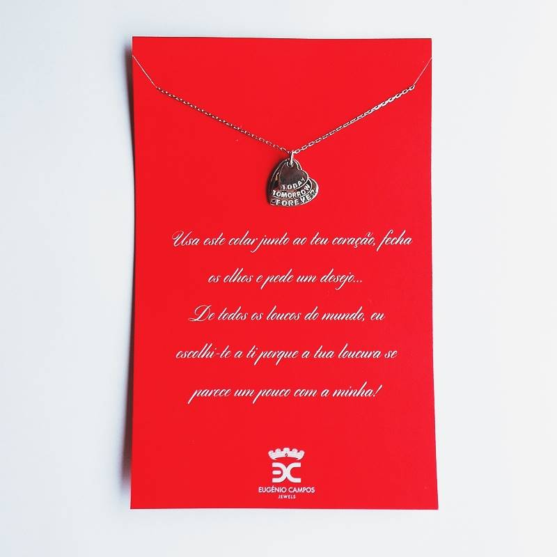 NEW IN \ Today, tomorrow, forever necklace