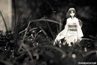 Shiki Ryougi Garannodou Photoshoot