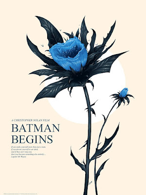Batman Begins Screen Print by Doaly x Bottleneck Gallery