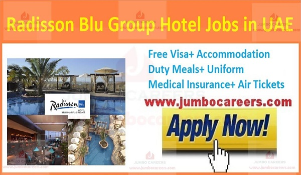 Hotel jobs in UAE, Show all new jobs in UAE,
