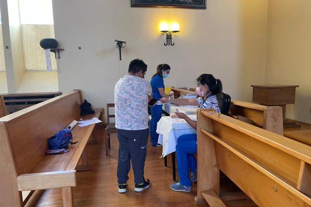 Vacunación en Osorno
