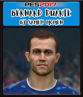 PES 2017 Faces Bernard Duarte by Sameh Momen