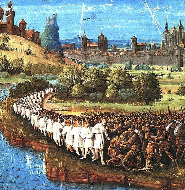 Massacre dos peregrinos de Pedro o Ermitão: só o combate organizado da Cruzada podia vencer