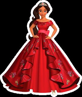 Princesa Elena de Avalor para impressão