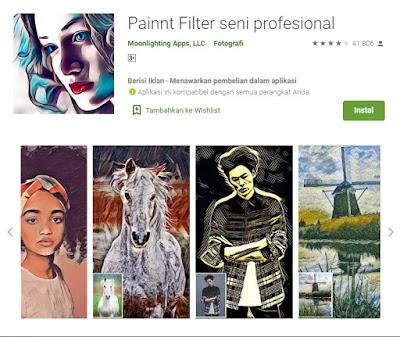 aplikasi pengubah foto menjadi sketsa wajah