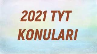 2021 TYT KONULARI