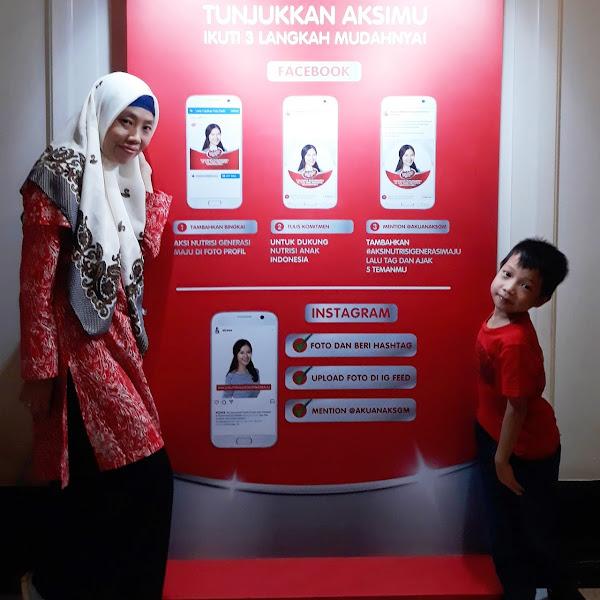 Yuk, Ikut Berpartisipasi Mendukung Masa Depan 33 Juta Anak Indonesia melalui Aksi Nutrisi Generasi Maju.