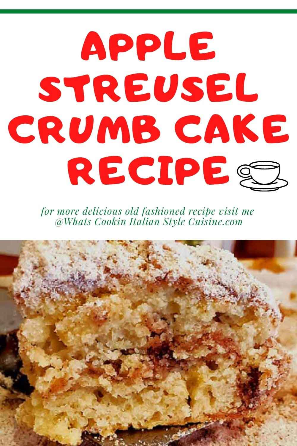 this is a pin for later how to make old fashioned crumb cake recipe