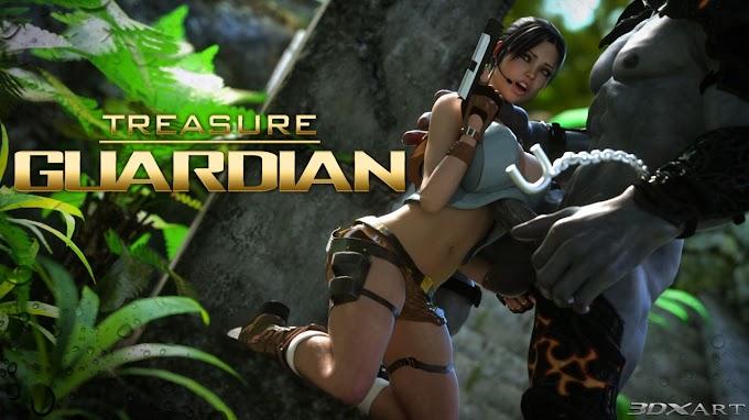 Lara Croft em Treasure Guardian