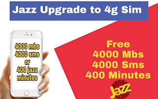 Jazz 4g sim offer, mobilink internet offer, jazz packages , jazz 8gb package