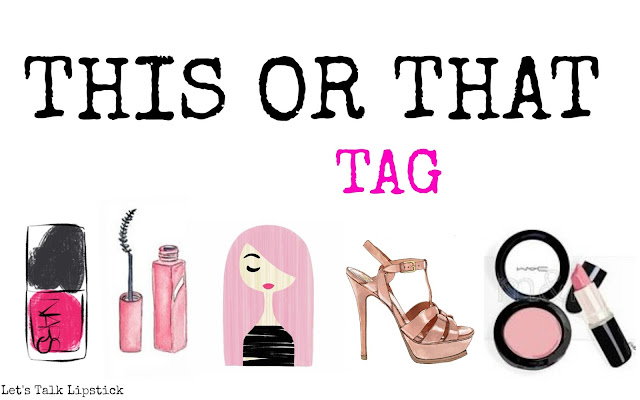 ∆ THIS OR THAT TAG