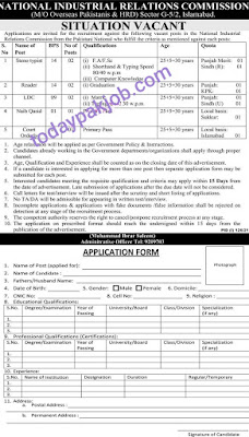 National Industrial Relations Commission Jobs 2021