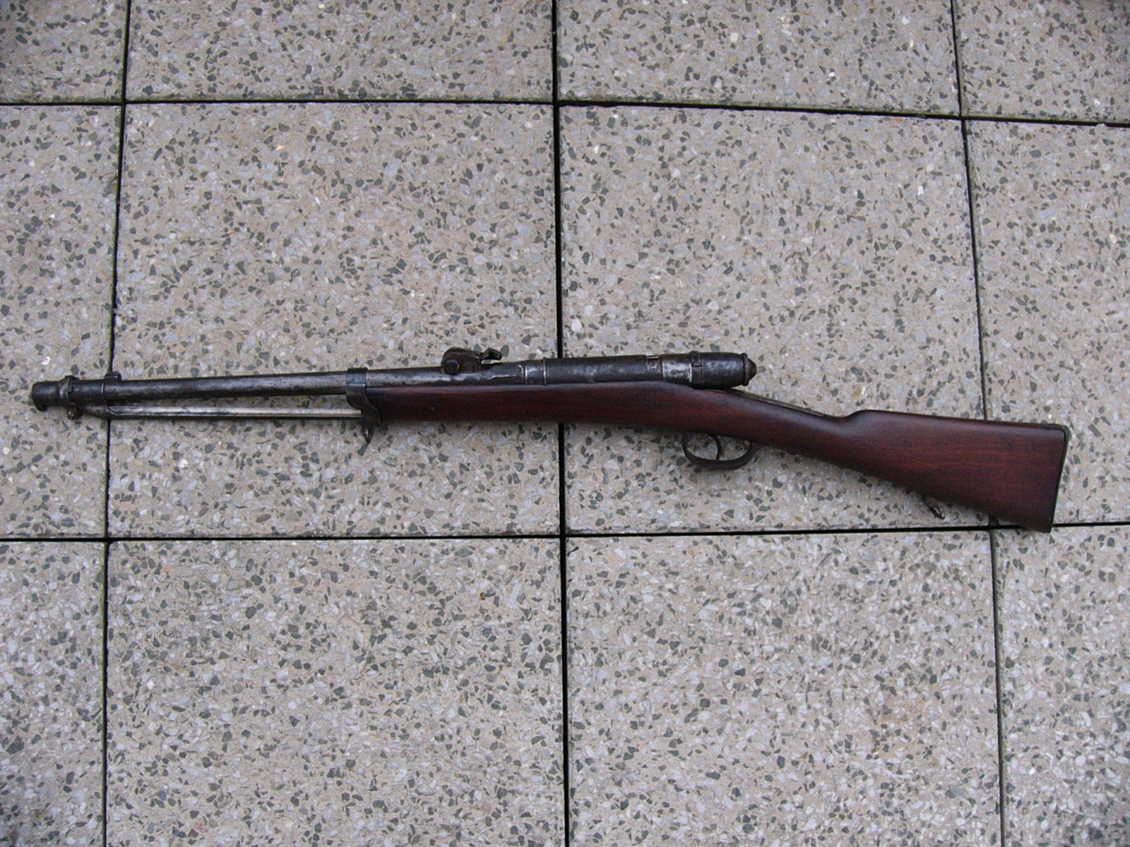 Sbírka historických zbraní: M1870 Italian Vetterli Cavalry Carbine