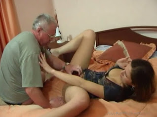 WATCH Pervert Russian dad and his naughty daughter