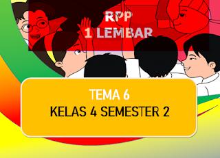 pejabat tersebut ingin  membagikan rencana pelajaran tentang penerapan RPP  √  Download Contoh RPP 1 Lembar Kelas 4 K13 SD/MI