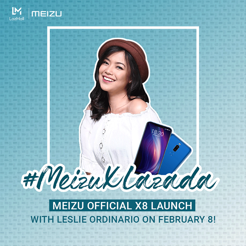 Meizu X8 will be official at Lazada Philippines on February 8!