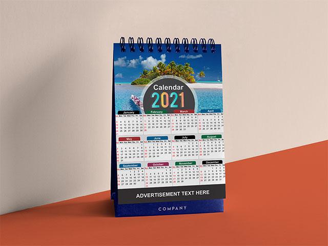 Calendar 2021 Design | free Vector Template Cdr file Download