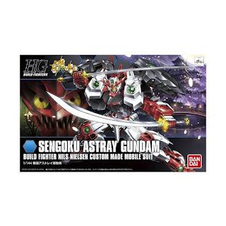 Bandai 0463738 Gunpla HGBF Sengoku Astray Gundam Model Kit [1:144]
