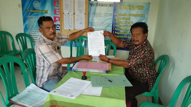 Rohimat, Resmi Mendaftar Sebagai Bakal Calon Kepala Desa Mekarsari