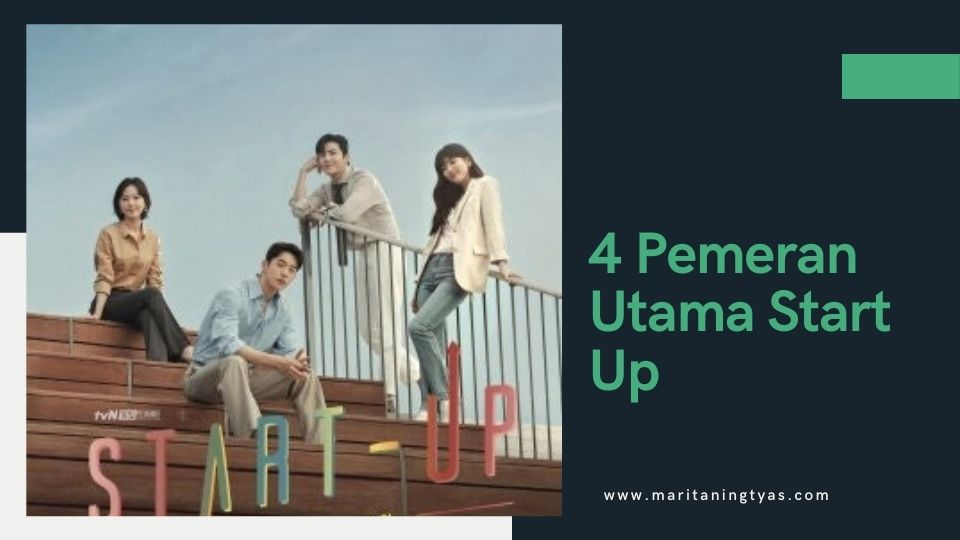 4 pemeran utama drakor start up
