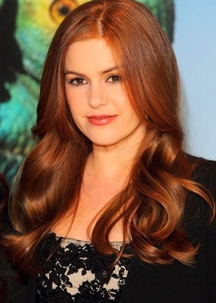 flattering auburn hair color