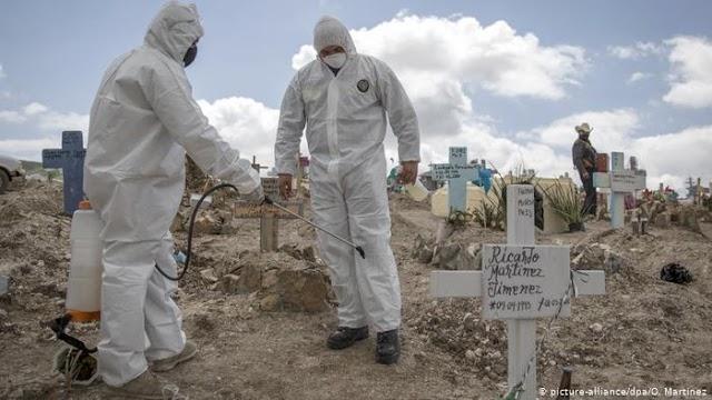 México cuenta ya con 97 mil 624 muertes por coronavirus Covid-19 (video)