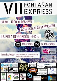 Carrera Fontañan Express 2017