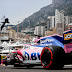 La dupla del Racing Point F1 Team, al fondo de la parrilla en Mónaco