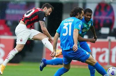 ملخص واهداف مباراة ميلان وساسولو (1-2) الدوري الايطالي