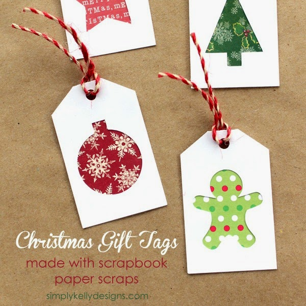 Silhouette projects, scraps, using scraps, gift tags