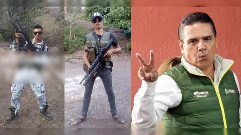 """Fotos: Uniformado como Guardia Nacional pero con botas mal amarradas """"Güicho el de Los Reyes"""" o """"El R5"""" patrulla Michoacán"""