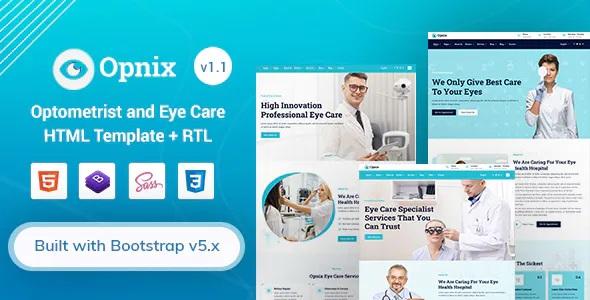 Best Eye Care & Optometrist HTML Template