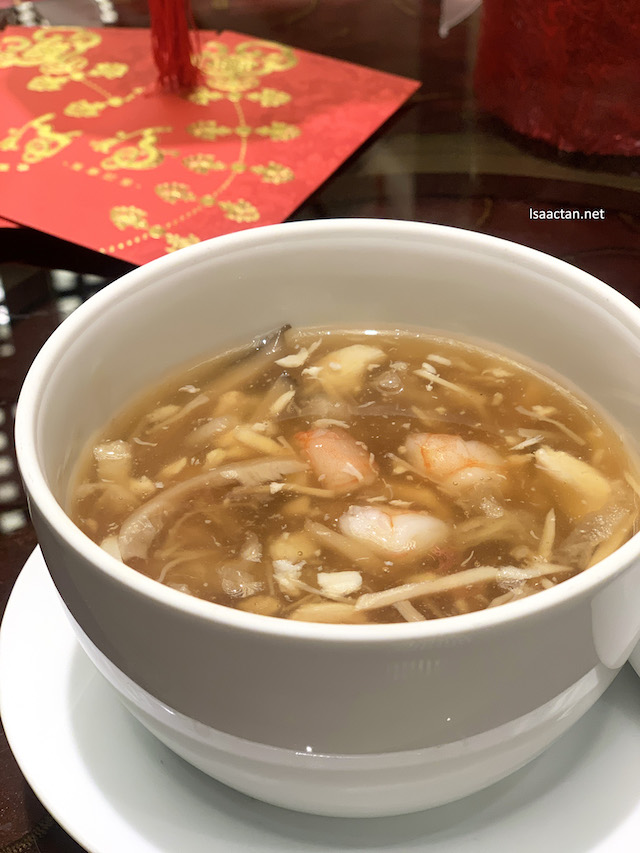 Sea Treasure Bouillon with Enoki Mushroom